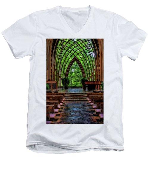 Inside The Chapel Men's V-Neck T-Shirt