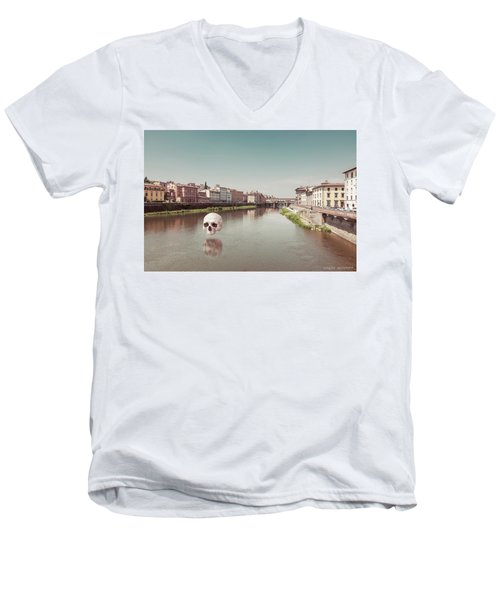 Interloping, Florence Men's V-Neck T-Shirt