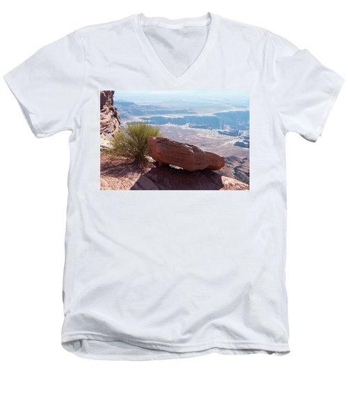 It Lives Men's V-Neck T-Shirt