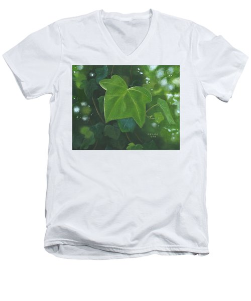 Ivy Waltz Men's V-Neck T-Shirt