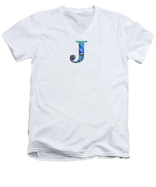 J 2019 Collection Men's V-Neck T-Shirt