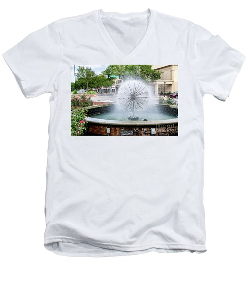 James Brown Blvd Fountain - Augusta Ga Men's V-Neck T-Shirt