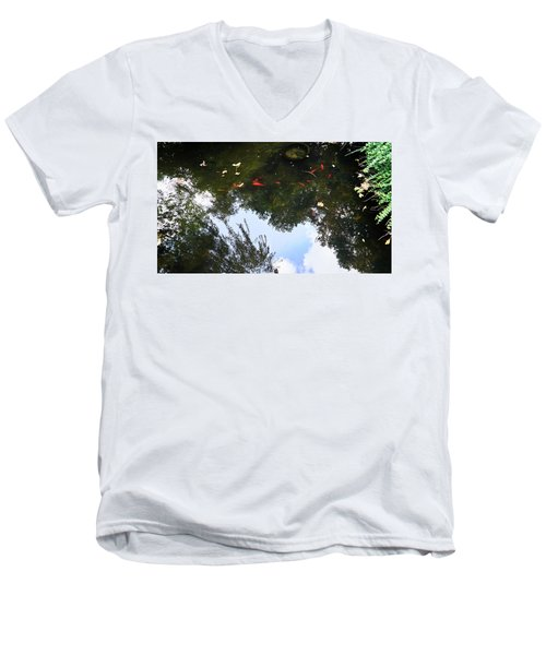 Jing An Park II Men's V-Neck T-Shirt