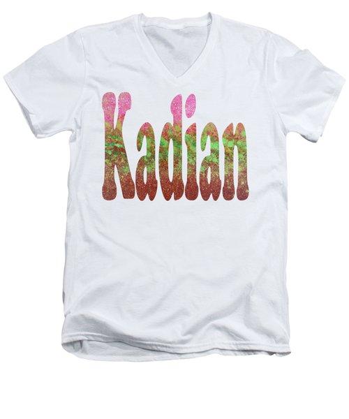 Kadian Men's V-Neck T-Shirt