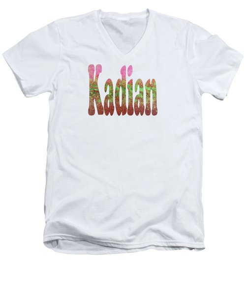 Kadian Men's V-Neck T-Shirt