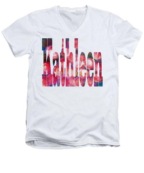 Kathleen Men's V-Neck T-Shirt