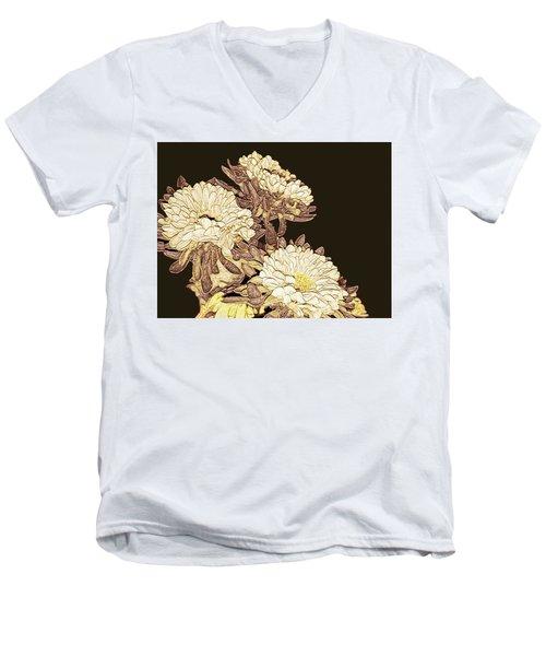 Kimono Garden Men's V-Neck T-Shirt