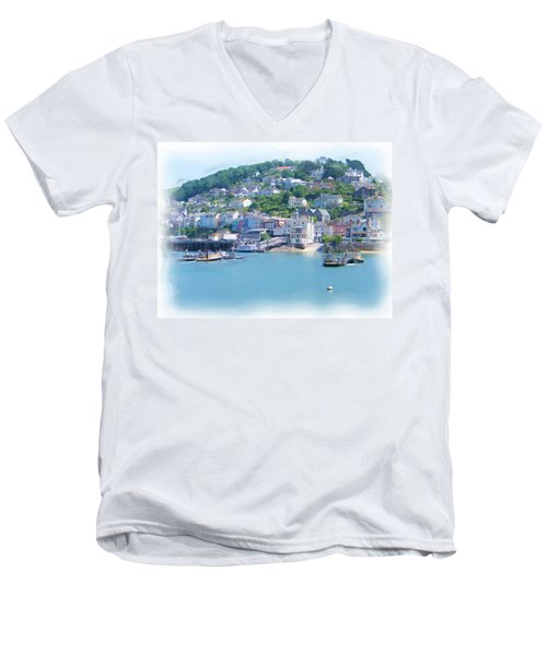 Kingwear Painting Men's V-Neck T-Shirt