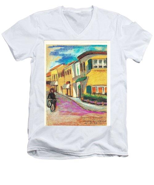 La Bichicletta Men's V-Neck T-Shirt