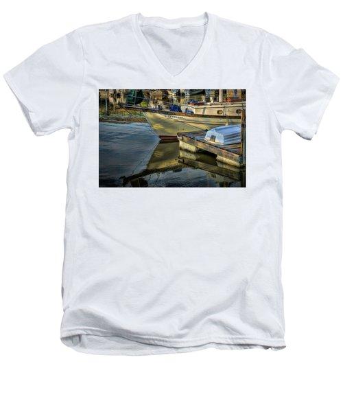 Lake Dardanelle Marina Men's V-Neck T-Shirt