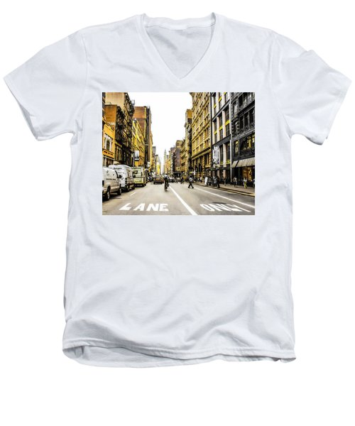 Lane Only  Men's V-Neck T-Shirt