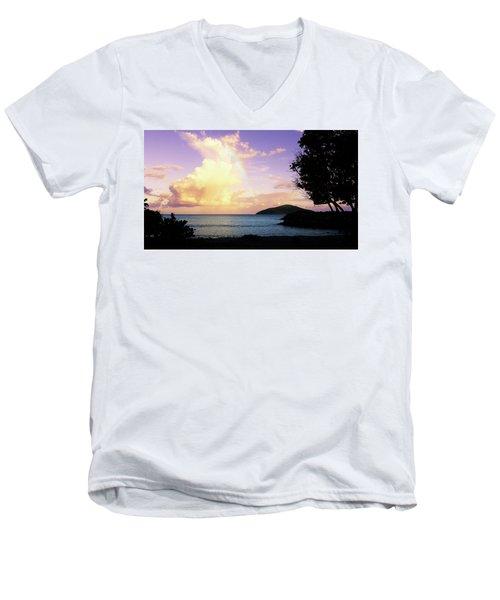 Last Rainbow Of The Day Men's V-Neck T-Shirt
