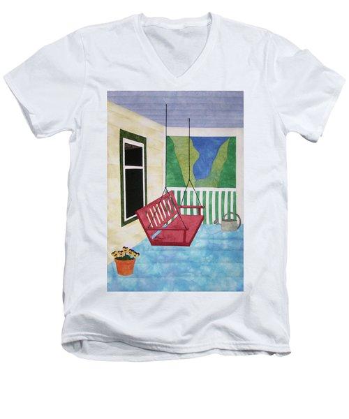 Lazy Summer Afternoon Men's V-Neck T-Shirt