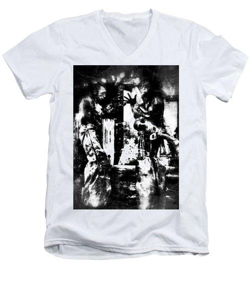 Lets Play Men's V-Neck T-Shirt
