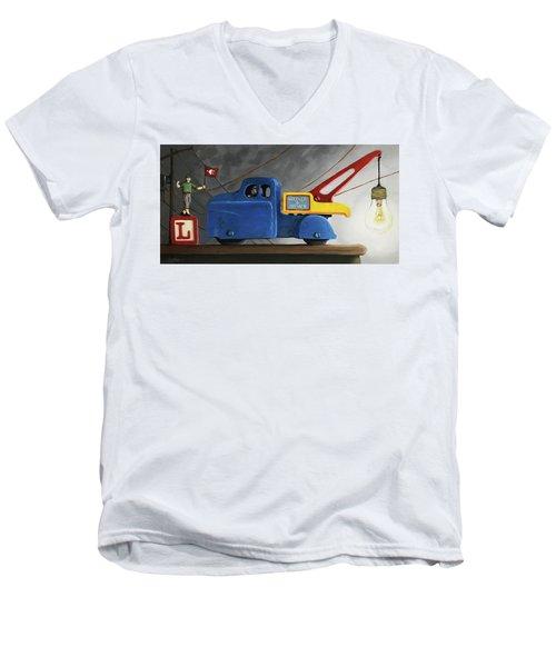 Light Load  Men's V-Neck T-Shirt