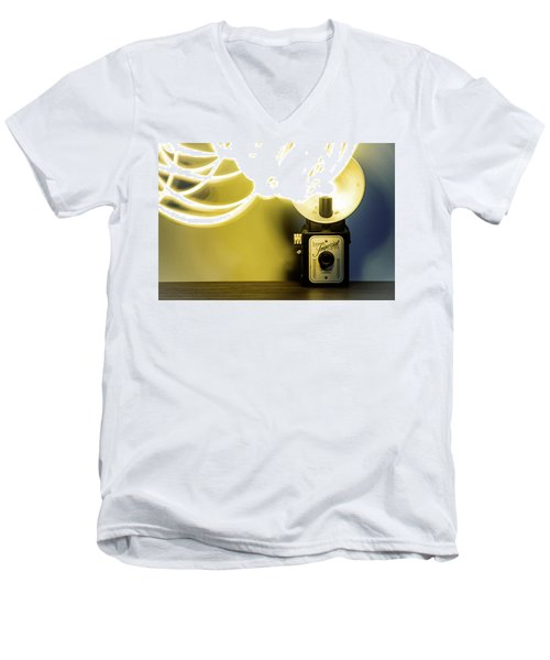 Lights, Camera, Action Men's V-Neck T-Shirt
