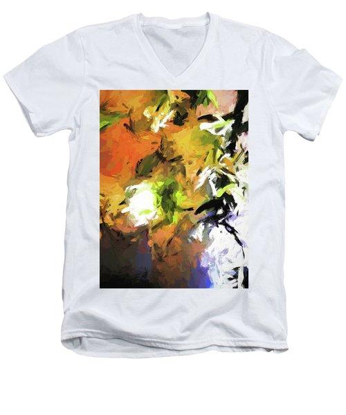 Lily For The Horses Men's V-Neck T-Shirt