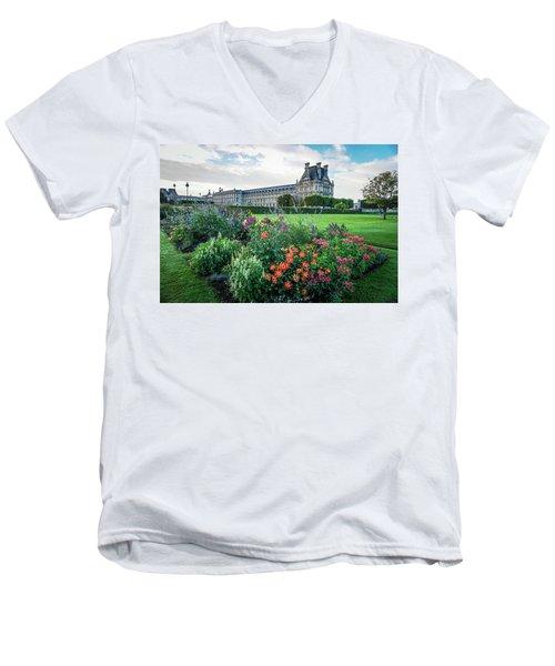 Louvre Men's V-Neck T-Shirt