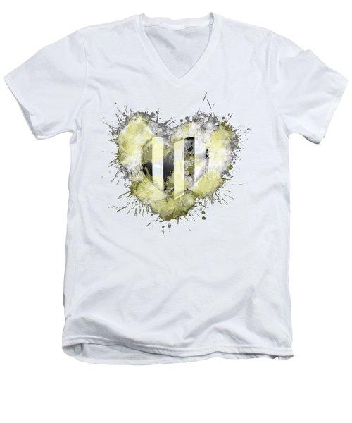 Love Juve Men's V-Neck T-Shirt
