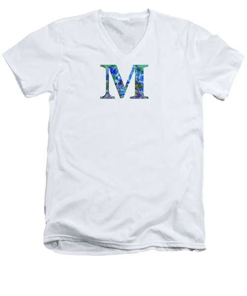 M 2019 Collection Men's V-Neck T-Shirt