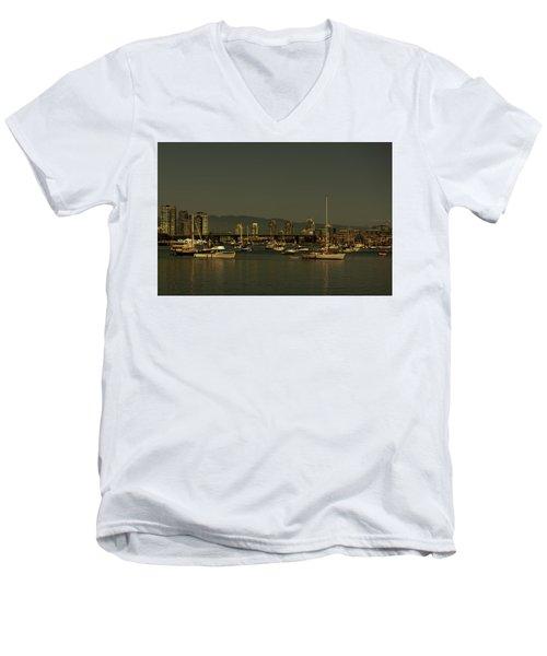 Marina Golden Hours Men's V-Neck T-Shirt