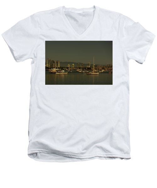 Marina Golden Hours Men's V-Neck T-Shirt