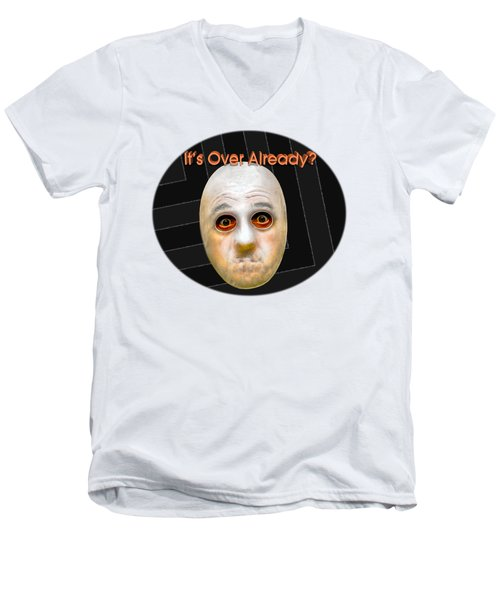 Masked Surprise Men's V-Neck T-Shirt