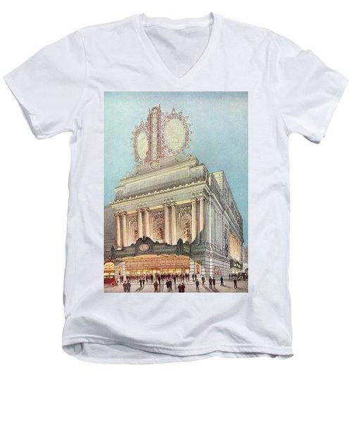Mastbaum Theatre Men's V-Neck T-Shirt