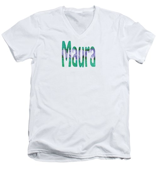 Maura Men's V-Neck T-Shirt