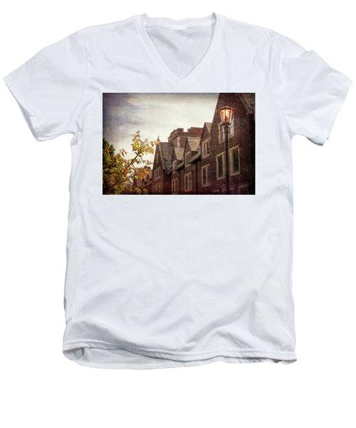 Mayslake Historic Home Men's V-Neck T-Shirt