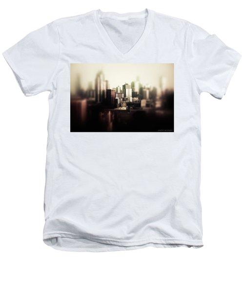 Melbourne Towers Men's V-Neck T-Shirt