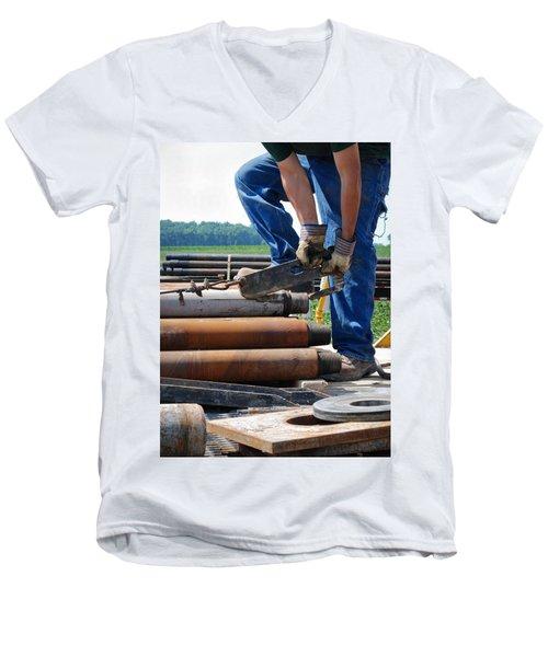 Metal On Metal Men's V-Neck T-Shirt
