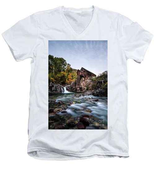 Mill On Crystal River Men's V-Neck T-Shirt