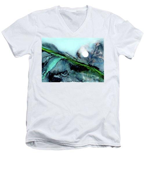 Moondance II Men's V-Neck T-Shirt