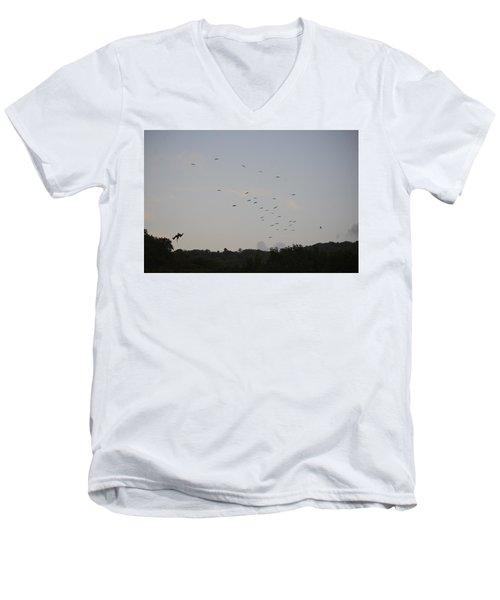 Morning Flock Rise Men's V-Neck T-Shirt