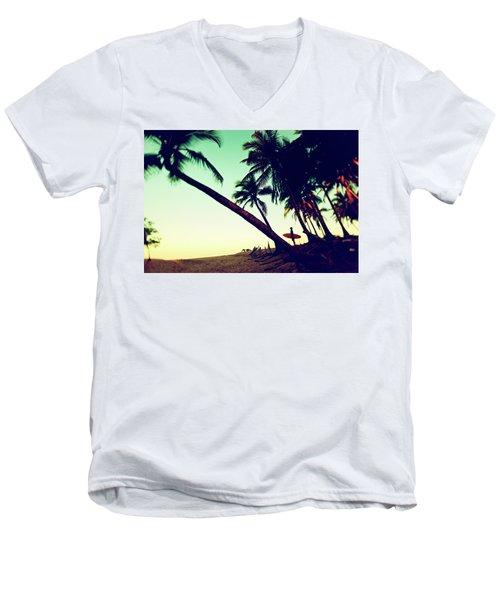 Morning Gaze Men's V-Neck T-Shirt