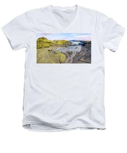 Mountain Glacier Men's V-Neck T-Shirt