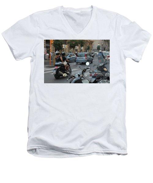 Naples Street Buzz Men's V-Neck T-Shirt