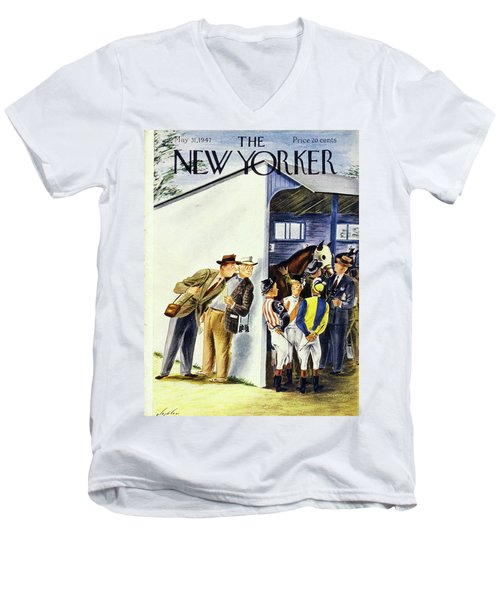New Yorker May 31st 1947 Men's V-Neck T-Shirt