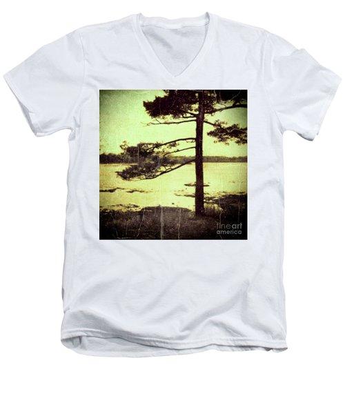 Northern Pine Men's V-Neck T-Shirt