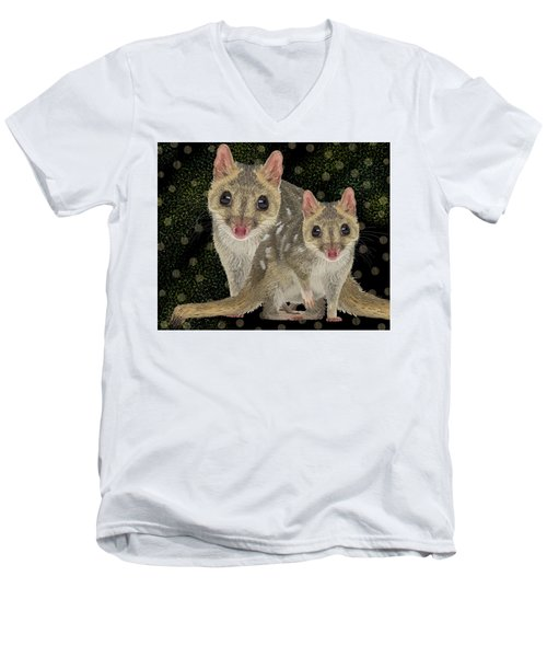 Northern Quoll 3 Men's V-Neck T-Shirt