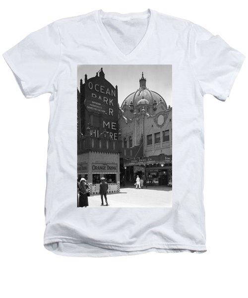 Ocean Park Pier 1920 Men's V-Neck T-Shirt