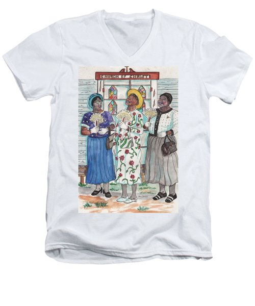 Oh, Sweet Jesus Men's V-Neck T-Shirt