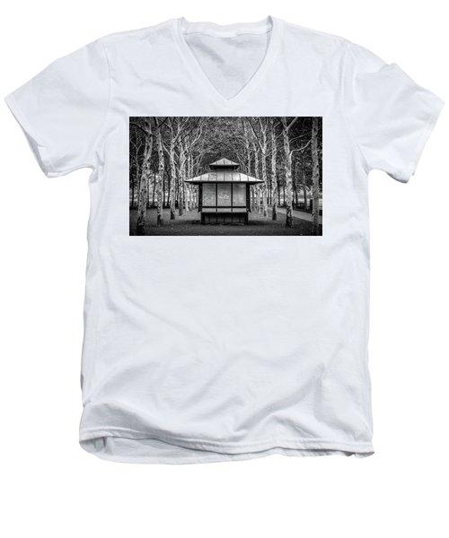 Pagoda Men's V-Neck T-Shirt