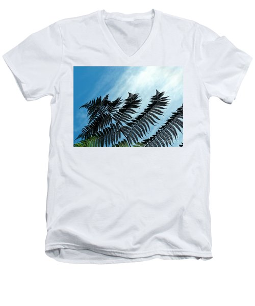 Palms Flying High Men's V-Neck T-Shirt