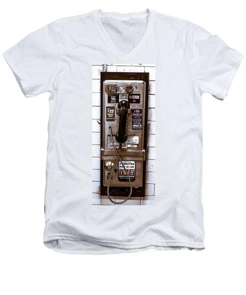 Payphone Men's V-Neck T-Shirt