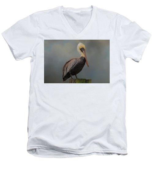 Pelican's Perch Men's V-Neck T-Shirt