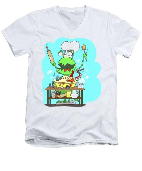 Peter And The Closet Monster, Baker Men's V-Neck T-Shirt