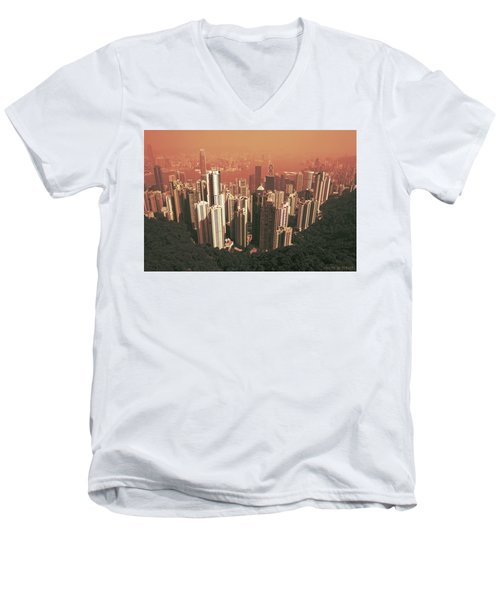 Pick-up Sticks Men's V-Neck T-Shirt