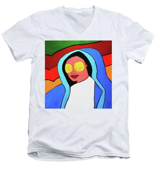 Pop Virgin Men's V-Neck T-Shirt